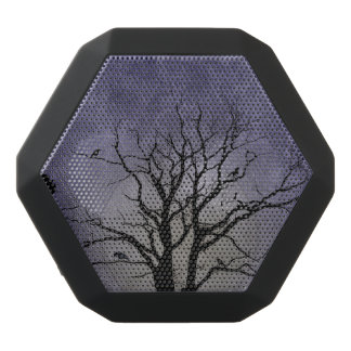 Spooky Tree Halloween Prints Black Bluetooth Speaker