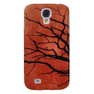 Spooky Tree Halloween Prints Samsung Galaxy S4 Case