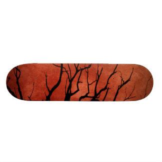 Spooky Tree Halloween Prints Skateboard