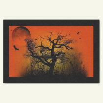 Spooky Tree Halloween Tissue Paper