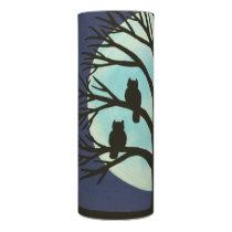 Spooky Tree & Owl LED Candle