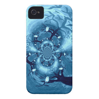 Spooky Tree Owls iPhone 4 Cover
