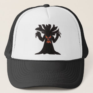 Spooky Tree Trucker Hat