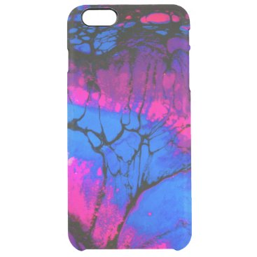 Spooky Trees in Evening Acrylic Art Clear iPhone 6 Plus Case