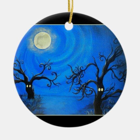 Spooky Trees Ornament