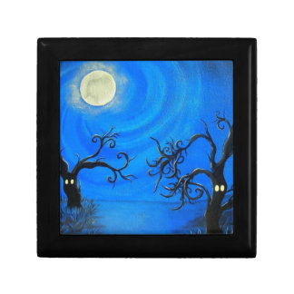 Spooky Trees - Tile Gift Box