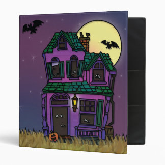 Spooky Trick or Treat Halloween Haunted House Binder