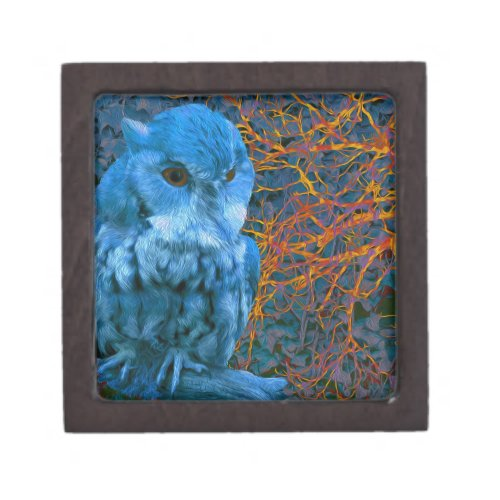 Spooky Watchful Owl Gift Box