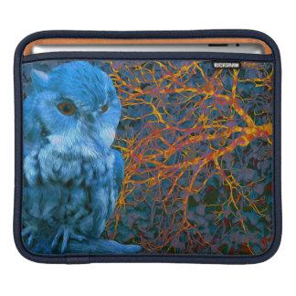 Spooky Watchful Owl iPad Sleeve