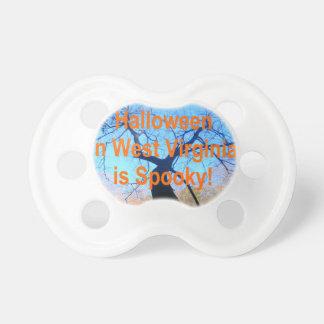 Spooky West Virginia Halloween BooginHead Pacifier