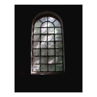 Spooky window flyer