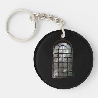Spooky window keychain
