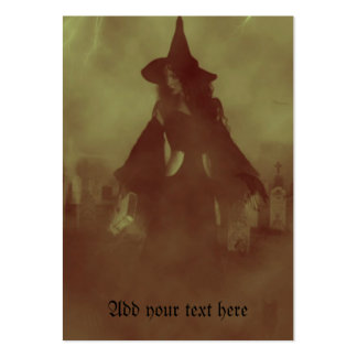 Spooky Witch Business Card Templates