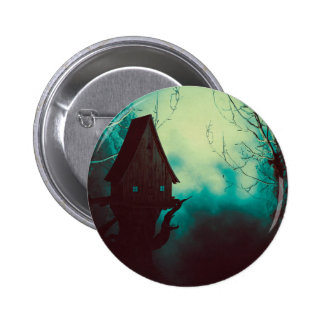 Spooky Witch House in Mist 2 Button