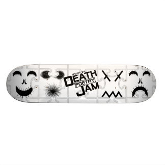Spooky Z's Death Poetry Jam Skateboard