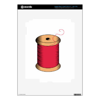 Spool of Thread Decals For iPad 3