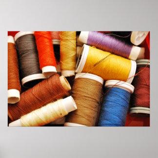 Spool Of Thread Print