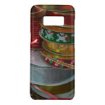 Spools of Christmas Ribbon Holiday Red and Gold Case-Mate Samsung Galaxy S8 Case