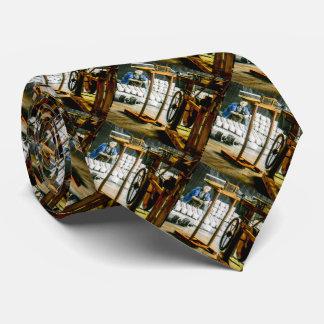 Spools of Silk in Factory Old Japan Vintage Neck Tie