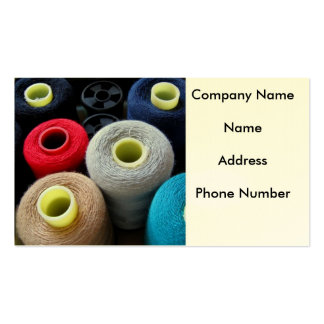 Spools of Yarn Business Cards