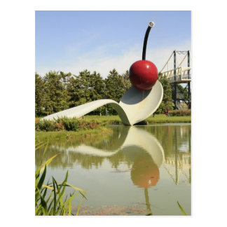 Spoon and Cherry Postcard