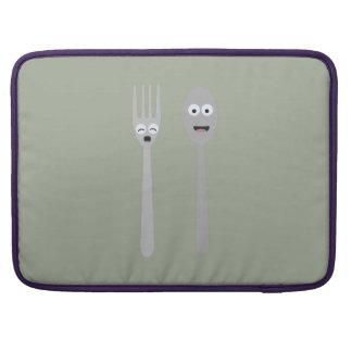 Spoon and Fork Kawaii Zqdn9 Sleeve For MacBooks