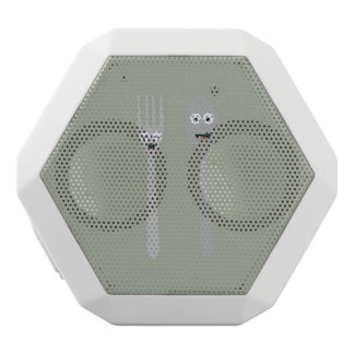 Spoon and Fork Kawaii Zqdn9 White Bluetooth Speaker