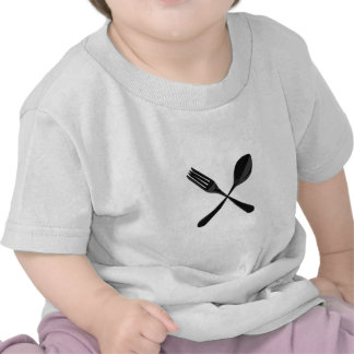 Spoon and Fork Tee Shirt