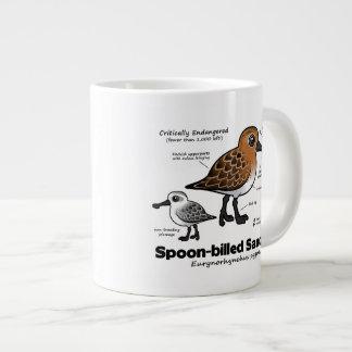 Spoon-billed Sandpiper Statistics Giant Coffee Mug