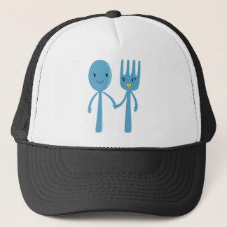 Spoon Couple Trucker Hat