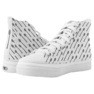Spoon Hi-Top Shoes by AWN