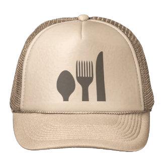 Spoon, Knife & Fork Graphic Trucker Hat