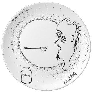Spoon of Bull Dinner Plate