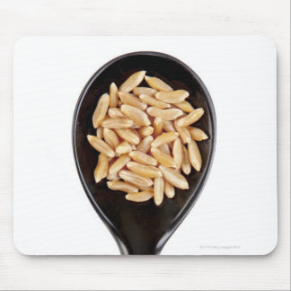 spoon of Kamut wheat grains Mouse Pad