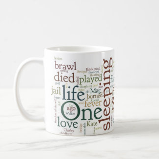 Spoon River Anthology mug in milk paint colors