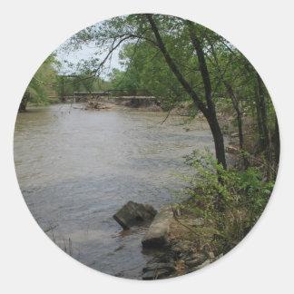 Spoon River Classic Round Sticker