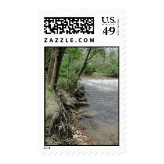 Spoon River Dam Postage