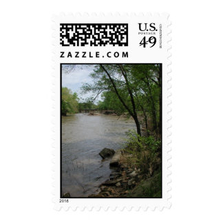 Spoon River Iron Bridge Postage