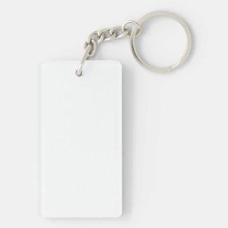 Spoonalism Color Single-Sided Rectangular Acrylic Keychain
