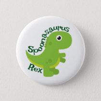 Spoonasaurus Rex Button