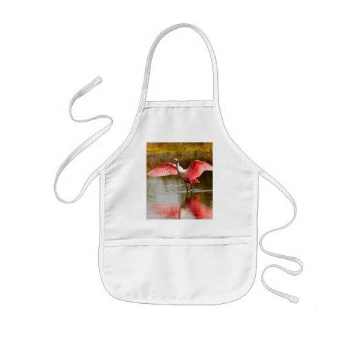 spoonbill apron
