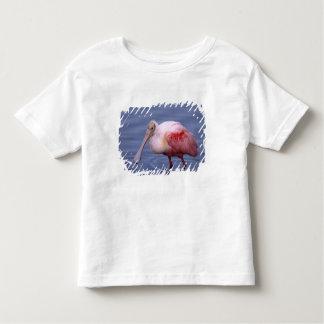 Spoonbill rosado (ajaja del Ajaia) Playera De Bebé