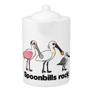 Spoonbills Rock!