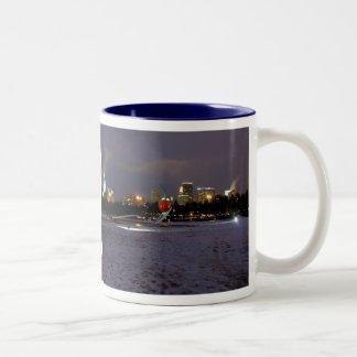 Spoonbridge and Cherry Two-Tone Coffee Mug