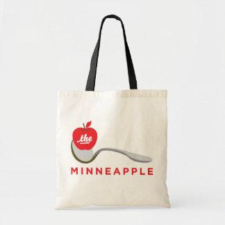 Spoonbridge and Minneapple Tote Bag