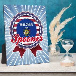 Spooner, WI Display Plaque