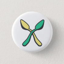 Spoonie Awareness Spoon Theory Recolor Pinback Button