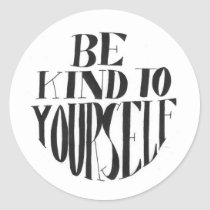 Spoonie-Be Kind To Yourself stickers