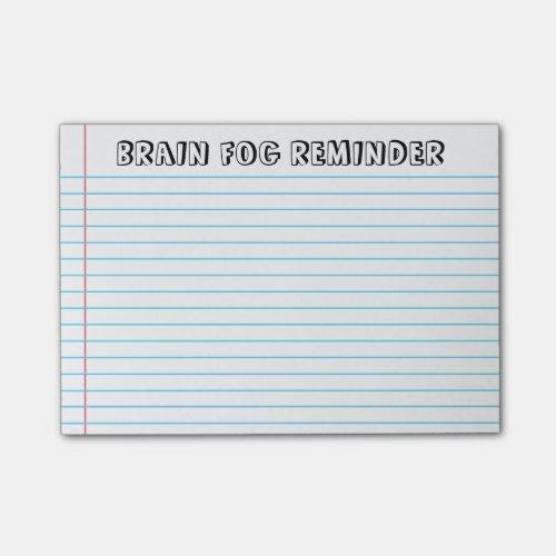 Spoonie - Brain Fog Notes-Chronic Illness Post-it Notes