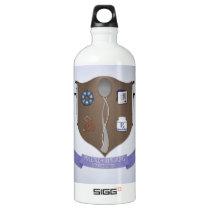 Spoonie Coat of Arms Aluminum Water Bottle